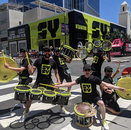 BOOM! Percussion Entertainment - LED Drumline