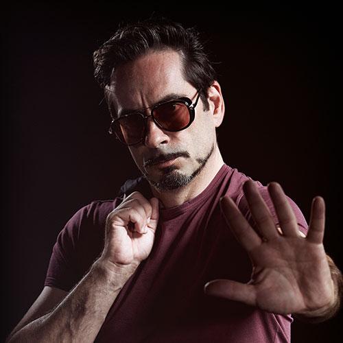 Marco Spatola - Roberty Downey Junior Lookalike