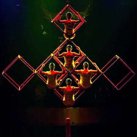 Qibu Culture - Chinese Knot Acrobatic Dance