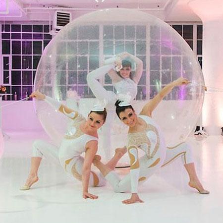 Bubble Acrobats