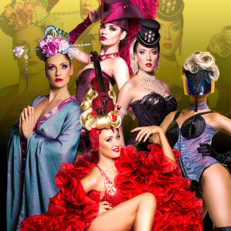 Les Capricieuses - Themed Showgirls