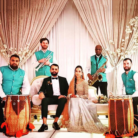 Dhol Players and Band Baja