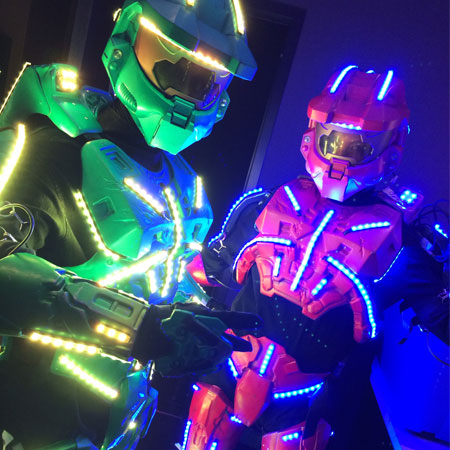 Hayden Productions - LED Pop n Lock Glo Bots