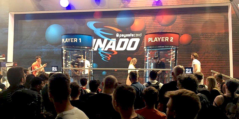 PINado Game Draws Large Crowds To Paysafecard Stand At Gamescom 2019
