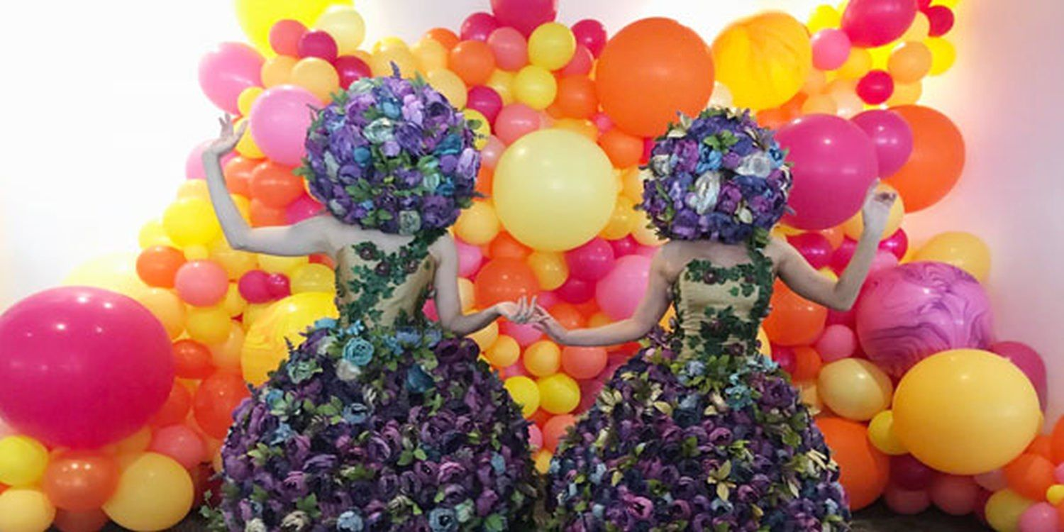 Roving Floral Entertainment Impresses At LVHA Lunch