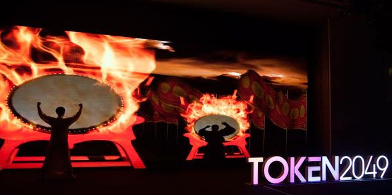 Multimedia Dancers Heat Up Token 2049 In Hong Kong
