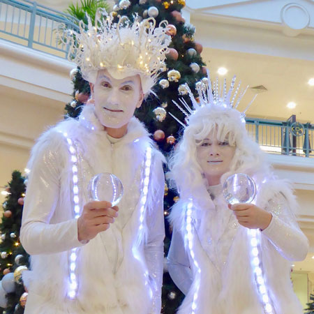 Ice Character Contact Jugglers
