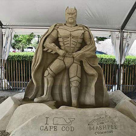 Sean Fitzpatrick - 3D Sand Sculptor