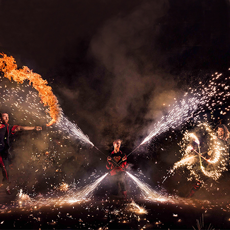 Super Cho - Pyro Shows