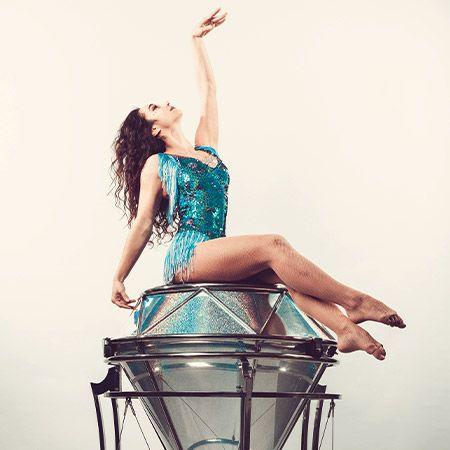 Lizaveta Charayan - Hand Balancer Diamond Act