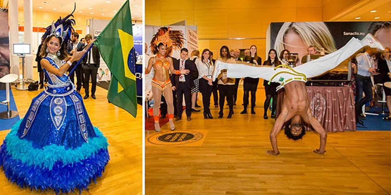 Live Samba Show A Success In Vienna Corporate Event