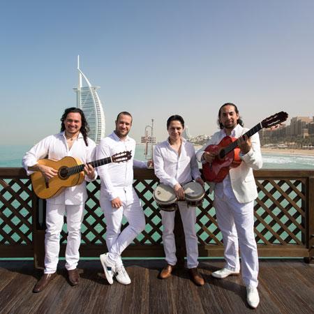 Exclusive Roaming Flamenco Band