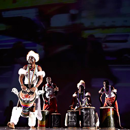 Happy Drum and Dance Africa