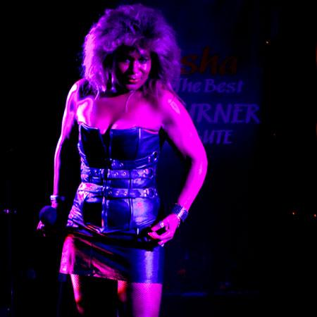 Kinisha as Tina Turner