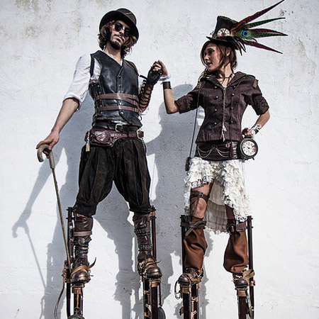 Alchemy Flame - Stilt Characters