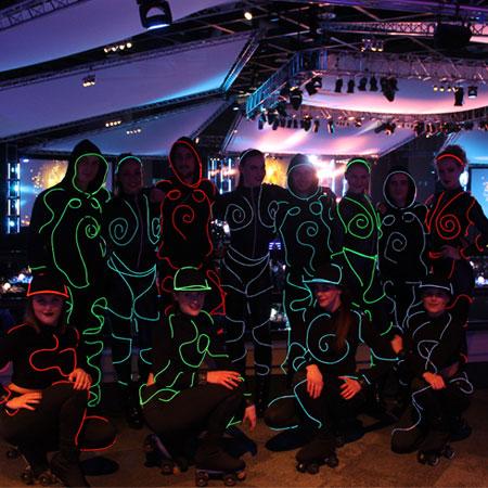 LED Light Show - Ultimate Event Dancers