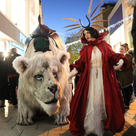 Creature Encounter - Snow Lion