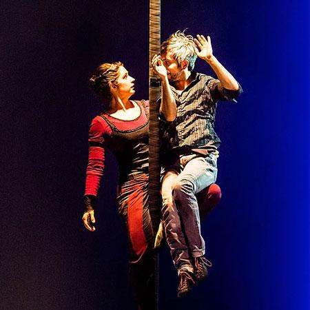 Vanina & Foucauld - Flying Pole Duo