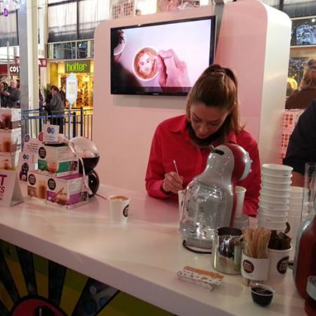 Sonya Parra - Coffee Artist