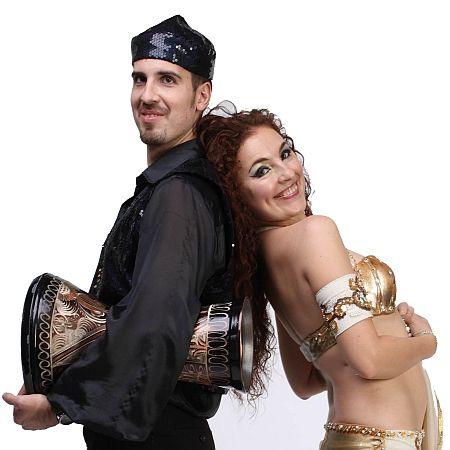 Inessa & Gregory - Belly Dance & Drum Show