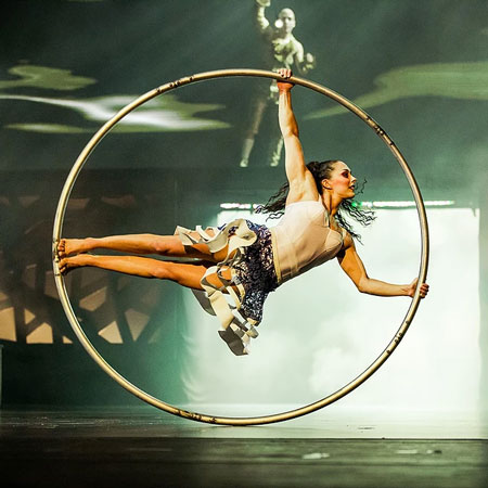 Rosita Hendry - Cyr wheel
