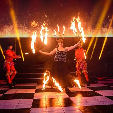 Highly Flammable - Fire Shows