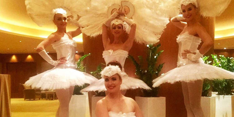 Ballet Dancers Enhance Celebrations In Abu Dhabi