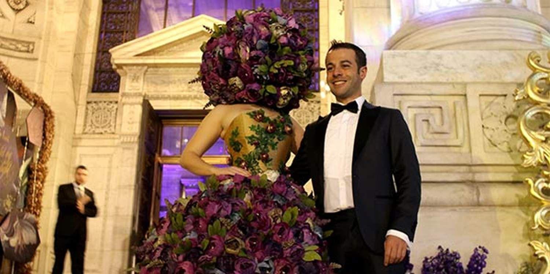 Scarlett Entertainment's Italian Manager Attends New York Knot Gala