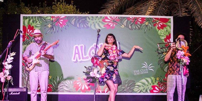Retro Surf Band Bring Hawaii To Abu Dhabi