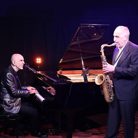 Claudio Airo, Romano Pratesi - Pianist Singer and Saxophonist