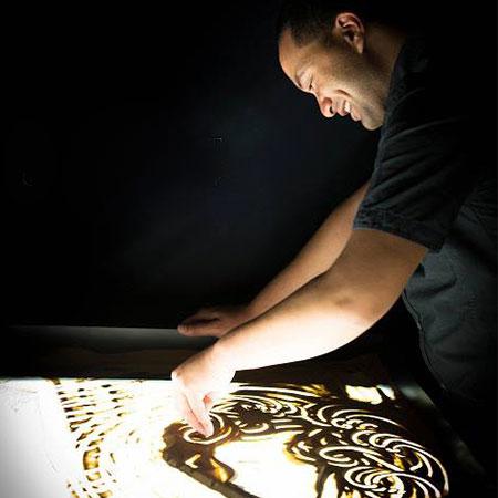 Marcus Winter - Sand Artist