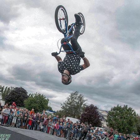 Inspire Shows - BMX Jump Box