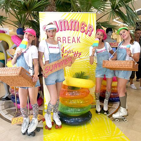 Roller Girl Hotesses