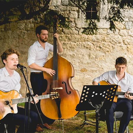 Amande & Miel - Les Triplets de Belleville (Jazz Manouche Trio)