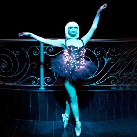 Weare Fire Storm - LED Ballerinas