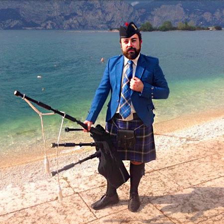 Piper Riccardo Pratesi - Bagpipes