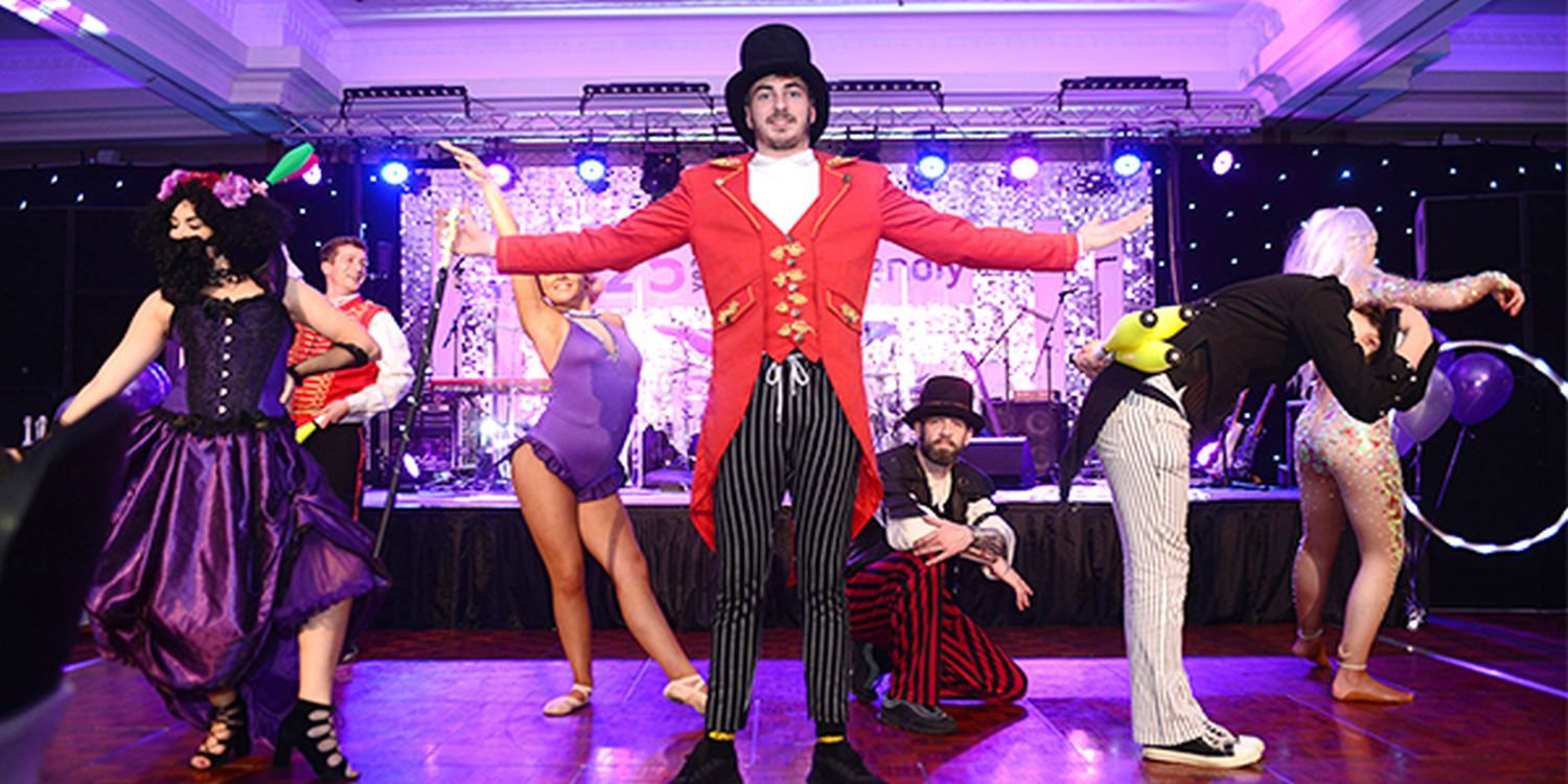 Greatest Show Characters Bring The Magic Of Circus To Corporate Annual Dinner