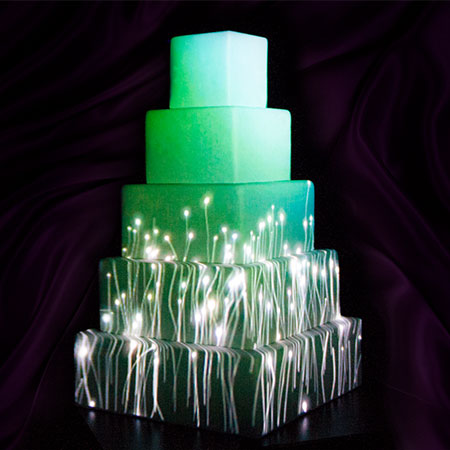 Ydeon studio - 3D cake video mapping
