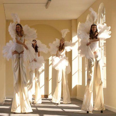 Hire a Dancer - Vintage Showgirls on Stilts