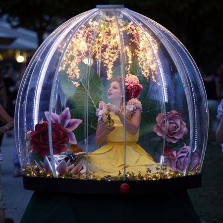 The Show Globe - Enchanted Flower Globe