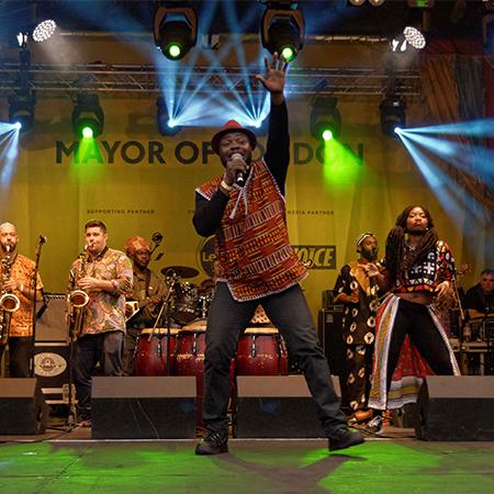 Afla Sackey & Afrik Bawantu Band
