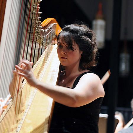Olivia Fortunato - Harpist