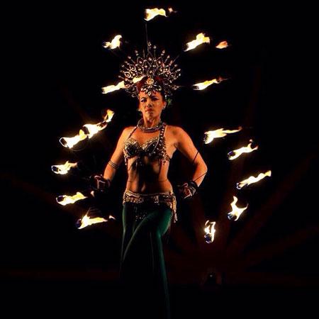 Yanika Beliza - Fire Shows