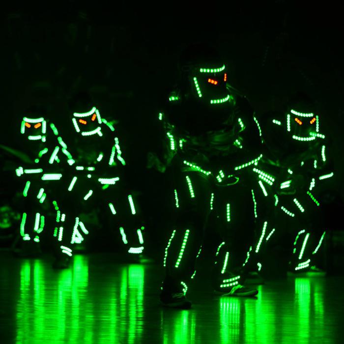 LED Robot Dancers