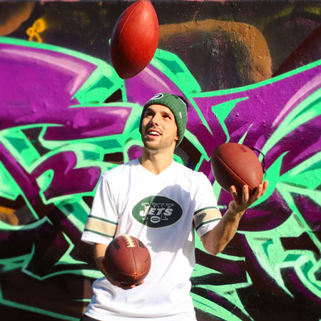 Andrew Wilding - Freestyle American Football Act