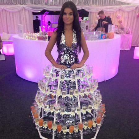Pastiche - Themed Champagne Dresses