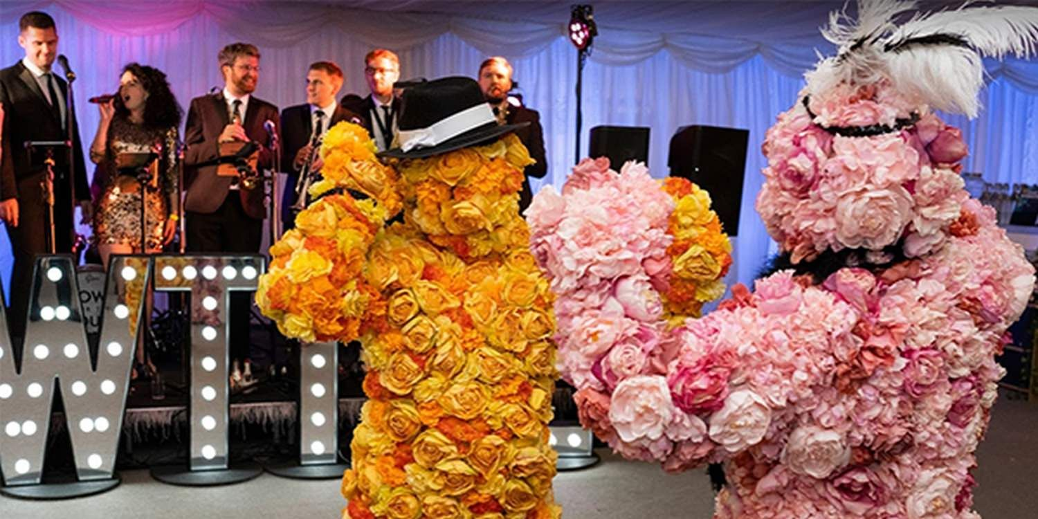 The Flower People Captivate Guests At Global Client Staff Summer Party