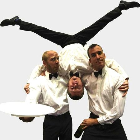 Acrobatic Waiters