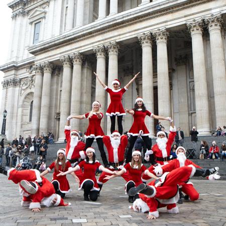 The Dance Mob - Hip Hop Santa's