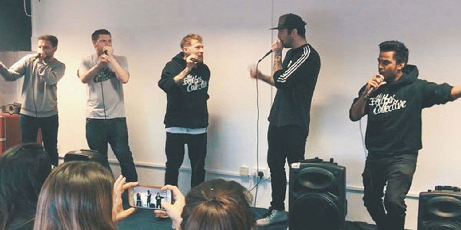 The Beatbox Collective Perform At Scarlett Entertainment HQ